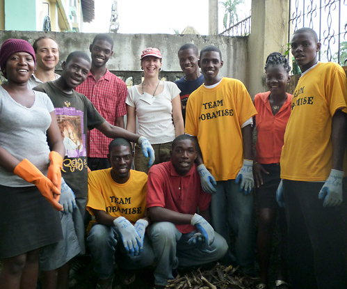Team Noramise, March 2010, Limbe, Haiti
