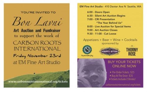 Bon Lavni Fundraiser Flyer